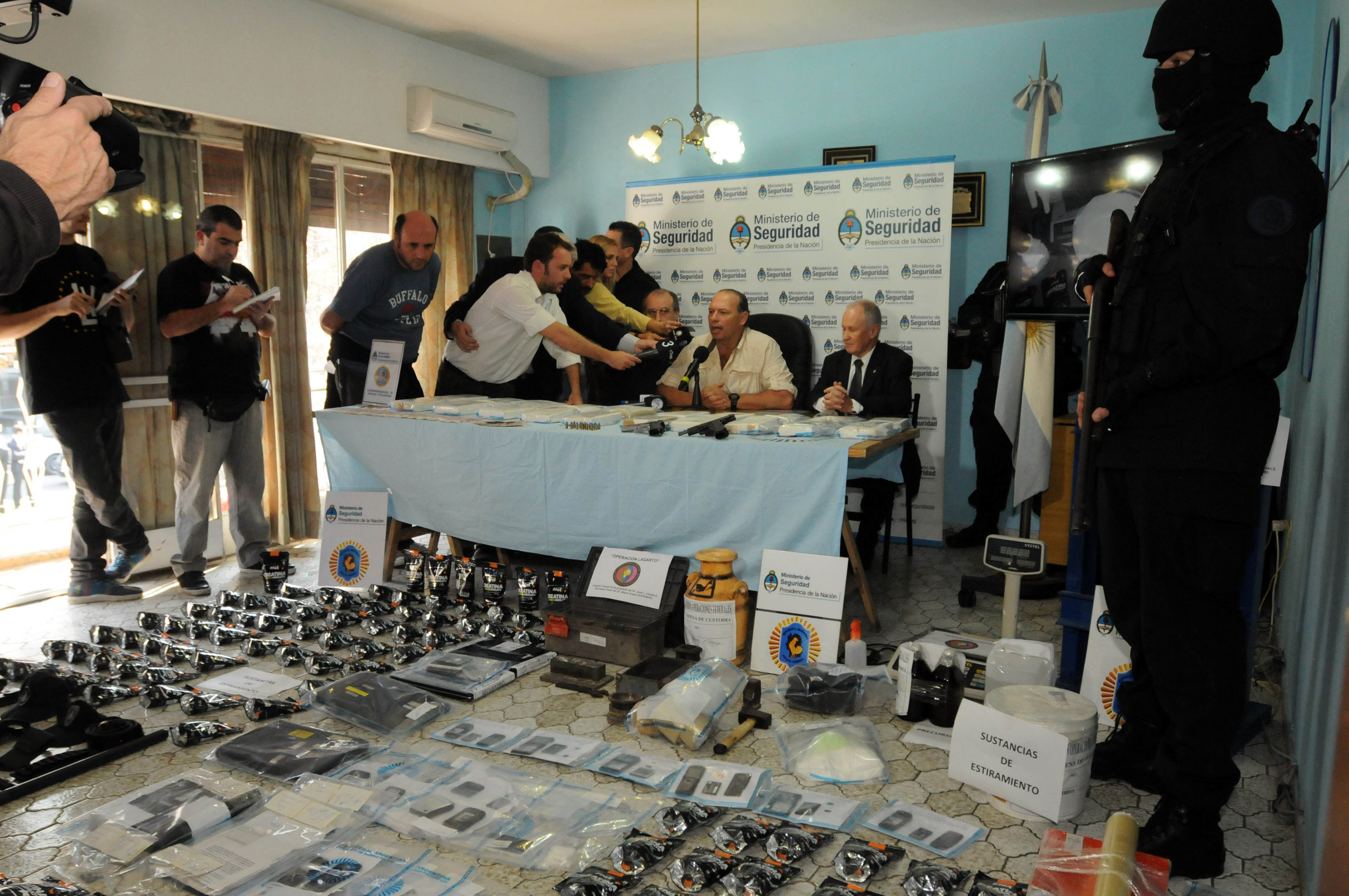 Investigación a cargo de juez misionero desbarató mega banda narco