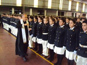 El Liceo Storni realizó la entrega de uniformes  en el Bicentenario de la Armada