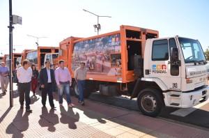 Posadas incorporó 11 camiones y 130 contenedores al sistema de recolección de residuos