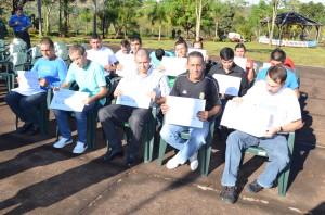 Internos del Penal de Oberá recibieron certificados de panaderos y confiteros