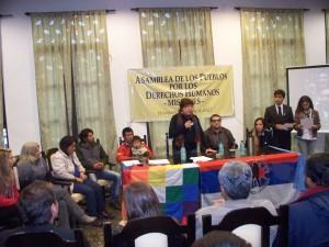 Se presentó en sociedad la Asamblea de los Pueblos por los Derechos Humanos