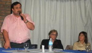 """Sandra Montiel: """"La presencia de Hugo Irala en el directorio del IPS es muy importante"""""""