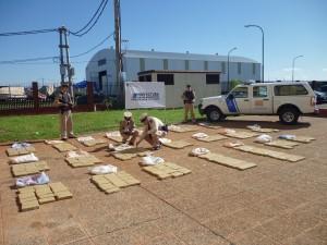 Prefectura secuestró casi media tonelada de marihuana en Misiones