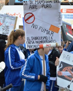 Con una jornada de sensibilización, la Municipalidad celebró el Día Mundial Sin Tabaco