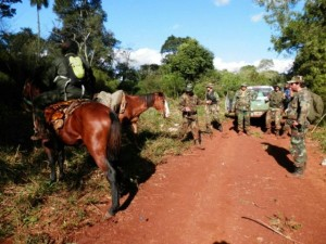 Guardaparques de Yabotí y el GOE interceptaron a cazadores furtivos