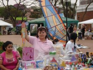 De desocupada a vender juguetes: el emprendimiento de una misionera que es un éxito