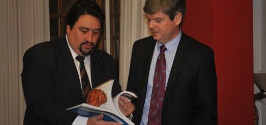 Closs se reunió con el encargado de negocios de la embajada de Estados Unidos en Argentina