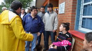 Damnificados de El Soberbio reciben asistencia