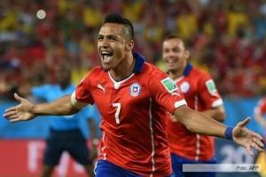 Chile le ganó 3 a 1 a Australia en el debut mundialista