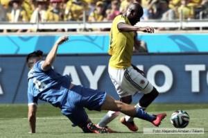 Mundial 2014: Colombia debutó como un grande en la Primera Ronda
