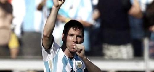 Messi festeja sus 27 años en Brasil