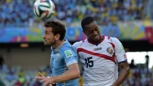 Mundial 2014: Costa Rica eclipsó a la Celeste con un sorprendente 3-1