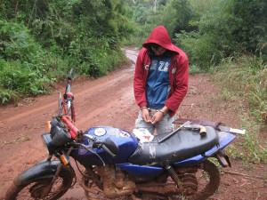 Tres personas demoradas por cazar en la Biósfera Yabotí