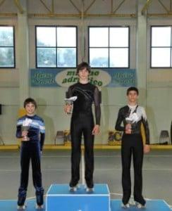 Edgar ganó la medalla de oro en la copa internacional Filippini de Italia