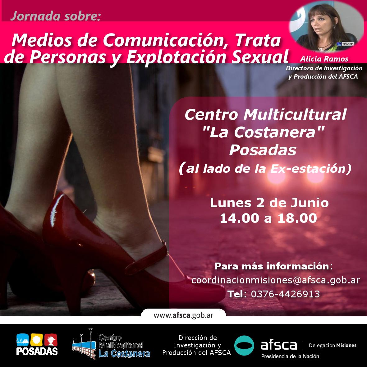 Afsca convocó a jornada sobre Medios de comunicación, trata de personas y explotación sexual
