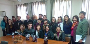 Cinco estudiantes de Enfermería viajan de intercambio a Brasil