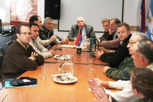El Directorio del INYM se reunió con el Ministro de Agricultura