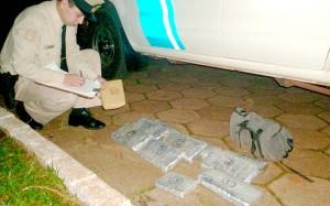 Prefectura detuvo a una persona que traficaba marihuana y cocaína en Misiones