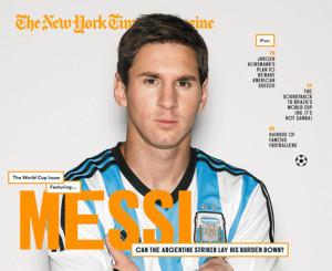 Messi es la portada de uno de los diarios más prestigiosos de Estados Unidos