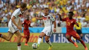 No pudieron: Alemania y Ghana empataron en Fortaleza