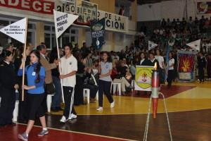 Inauguraron las Olimpíadas deportivas estudiantiles de Educación Física 2014