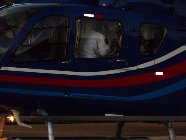 Inundaciones: el pequeño Mario Cabrera fue trasladado en helicóptero desde Montecarlo