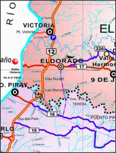 Advierten de caminos alternativos por la creciente del Paraná