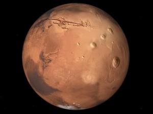 En Misiones se verá una espectacular conjunción de Marte y la Luna