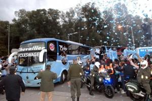 La Selección viaja rumbo al estadio Mineirao