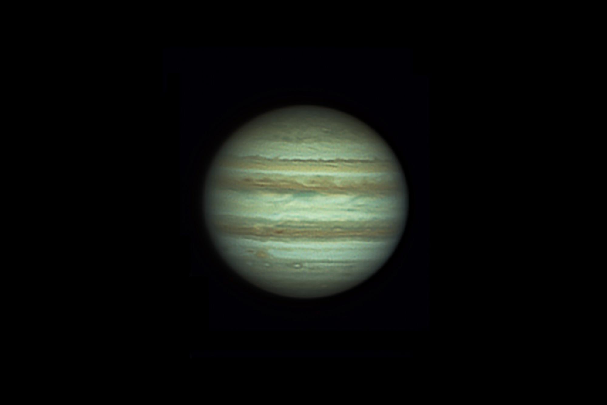 Júpiter será mini eclipsado tres veces en un mismo día