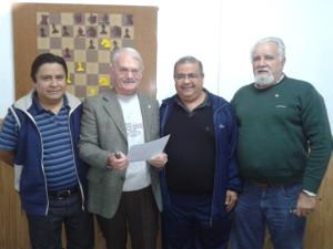 Convenio para difundir el ajedrez en las escuelas