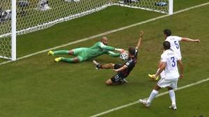 Alemania venció a Argelia 2 a 1en tiempo suplementario