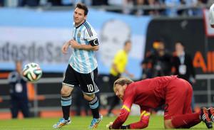 En su despedida de la gente, Argentina le ganó a Eslovenia en La Plata