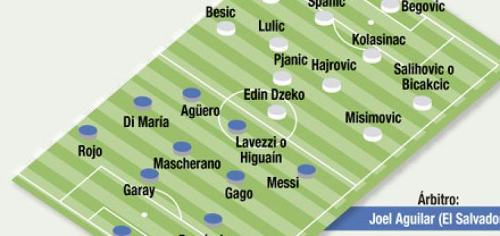 Inicia el sueño: Argentina debuta ante Bosnia en el Maracaná