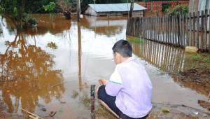 Más de 7300 personas fueron evacuadas hasta esta noche por la creciente del Uruguay