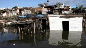 Más de 3.000 autoevacuados en Chaco por la crecida del río Paraná