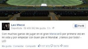 """Messi: """"Vamos por todo"""""""