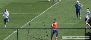 Higuaín jugó para los suplentes