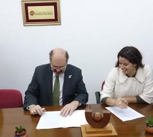Se firmó un convenio entre el Dachary y el Registro de la Propiedad Inmueble de Misiones
