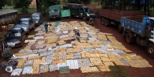 Secuestran más de tres toneladas de marihuana y desbaratan una banda de narcotraficantes en Misiones