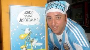 El argentino que espera en Belo Horizonte ganar el Mundial desde su pizzería