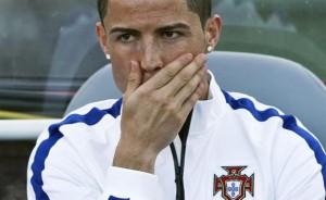 Portugal admite la lesión en la rodilla de Cristiano Ronaldo