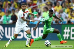 Aburrido empate de Irán y Nigeria los rivales de Argentina
