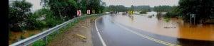 Vialidad Provincial evalúa daños en Rutas y Puentes y asiste a Municipios afectados