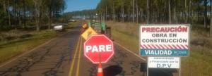 Ejecutan trabajos en la ruta provincial Nº 7
