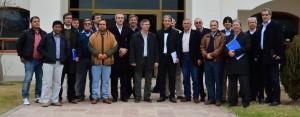 Pepe Scioli mantuvo encuentro con el sector tabacalero en Salta