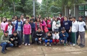 """Viajaron a la Cruz de Santa Ana los ganadores del concurso """"Si Pinta Escuela Nº 826, Pinta vida"""""""