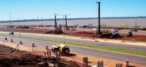 Centro de Frontera Posadas y puente internacional: avanzan trabajos del nuevo viaducto
