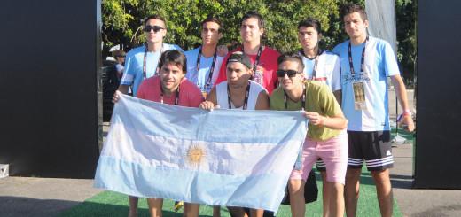 Futbolistas posadeños también fueron subcampeones en Brasil