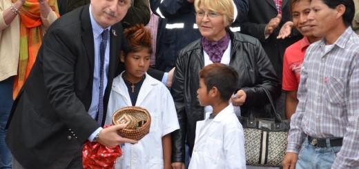 Passalacqua encabezó aniversario de Delicia